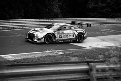 24h Rennen Nrburgring (Tup') Tags: car canon germany lens blackwhite europe body gear places treatment nrburgring canonef70200mmf28lis 24hrennen canon5dmarkii karussellturn