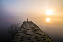 Finnish Summer (Niko Waenerberg Photography) Tags: sunset summer sun nature fog night sunrise canon photography official mark iii feel free 5d moment finnish chill