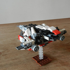 DSCN6657 (alfa145q_lego) Tags: lego legocreator vehicletransporter 31033 alternate futureflyers 31034 mecha rebuild