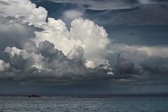 Soon The Monsoon (sphaisell) Tags: ocean sea sky india storm clouds indianocean monsoon andamanislands elephantbeach havelockisland