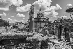 ROMA - fori imperiali (massimo mazzoni 78) Tags: roma clouds nuvole foriimperiali