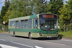 YJ09 CVF: Bannister t/a Isle Coaches, Owston Ferry (chucklebuster) Tags: yj09cvf bannister isle coaches fishwick vdl sb200 wright pulsar