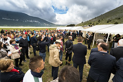 Opening (ViaDinarica) Tags: people food usaid nature landscape locals hiking ceremony runners awards mountainbiking whitetrail undp bosniaandherzegovina wildnature blidinje blidinjelake viadinarica connectingnaturally terradinarica