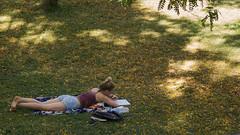 The End of Spring (rafa.esteve) Tags: park street espaa valencia garden spain shadows streetphotography 16x9 espaa