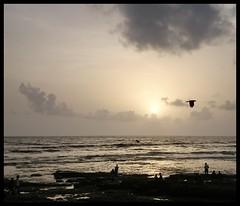 Monsoon-scapes (Indianature14) Tags: sunset sea india monsoon bombay maharashtra mumbai seaface bandrabandstand arabiansea indianature monsoonsea