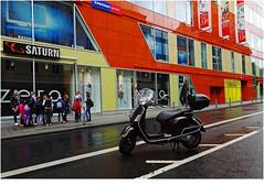so lonely / WI#1 of 6 (Lutz Koch) Tags: wiesbaden hessen motorroller scooter sonydschx90 elkaypics lutzkoch city walk stadt explore explored inexplore hesse germany