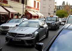 Black Series (BenGPhotos) Tags: black london car grey mercedes benz c 63 panasonic mercedesbenz series supercar v8 spotting dmc matte amg c63 fz38 dmcfz38 ld12ycb