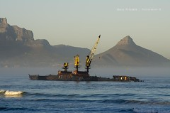 Remnants... (Craig Pitchers) Tags: africa mountain table southafrica nikon ship capetown shipwreck wreck 70300mm lionshead westerncape d7000 nikond7000