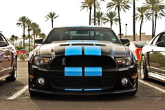 Shelby Mustang GT500 (Monkey Wrench Media) Tags: show blue arizo