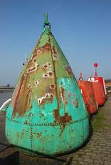 Hello buoys! (John In Pink) Tags: 2012 kingslynn buoyant