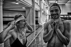 Duo (tourgueniev) Tags: portrait bw fuji noiretblanc montreuil piscine x100