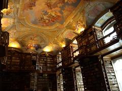St. Florian's Priory (barnyz) Tags: abbey linz austria interior library books baroque fresco priory rococo sumptuous stflorianspriory
