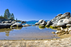 Lake Tahoe (Rob Vucic) Tags: lake beach rocks nevada laketahoe boulders sandharbor