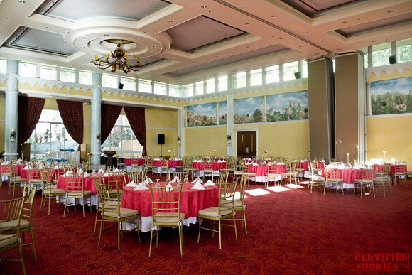 The Santorini Grand Ballroom in Hotel Elizabeth Baguio