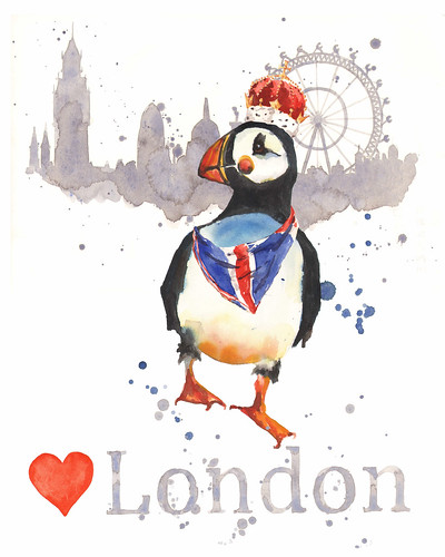 Love London Puffin