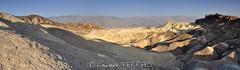 Death Valley, Zabriskie Point at sunrise time (Laurence TERRAS) Tags: california southwest sunrise landscape nationalpark unitedstates desert zabriskiepoint paysage goldenlight deathvalleynationalpark