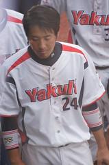DSC04404 (shi.k) Tags: 横浜スタジアム 東京ヤクルトスワローズ 120608 イースタンリーグ 荒木貴裕
