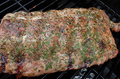 Dry Rub (WK photography) Tags: food ribs barbeque parsley thyme oregano roastedgarlic applewood garlicsalt dryrub slowcook smokepouch
