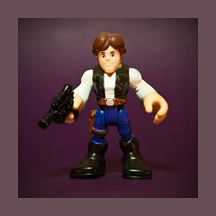 Little Han Solo (Evan MacPhail Photography) Tags: toy star princess little action solo figure loves wars he han leia