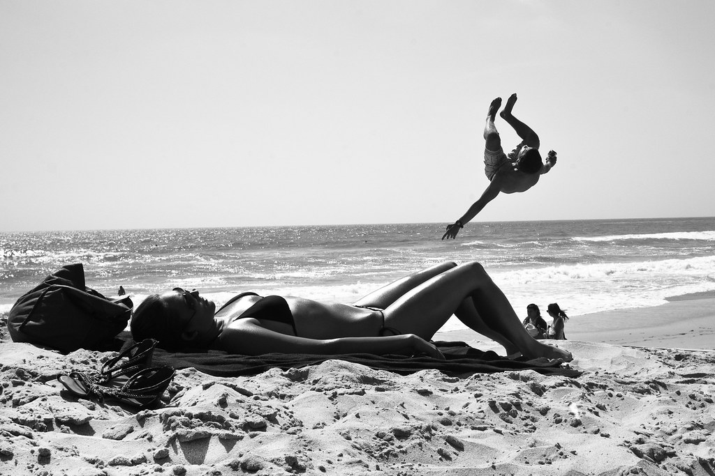 Moonlight Backflip (Brandon Skinner) Tags  blackandwhite surf sandiego  surfing bikini sunbathing moonlightbeach dstreet 7726021f25d