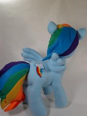 Rainbow Dash (Handmade Stuffs) Tags: friendship handmade pegasus plush fim ponies mlp mylittlepony rainbowdash dashie