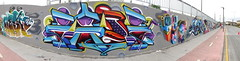 Zade (COLOR IMPOSIBLE CREW) Tags: chile west color graffiti teo concepcion crew asie painters 2012 zade imposible fros concegraff