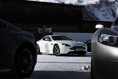 . (sjoerdtenkate.com) Tags: white snow ice switzerland action astonmartin ch 2012 stmoritz virage onice v8vantage