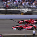 Indy 500 (2012) Dario Franchitti battles Scott Dixon