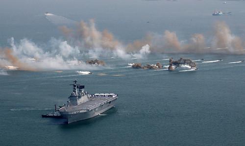2008년10월23일 해군 훈련