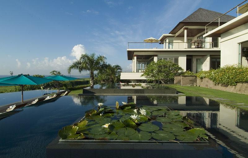 Sanur Residence - lily pond