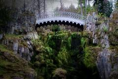 Devil's Bridge (memories-in-motion) Tags: park bridge forest germany moss fujifilm wald schlosspark mystic moos kassel wilhelmshöhe x100 teufelsbrücke fuiji idream fairytaleroad deutschemärchenstrasse