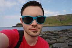 On The Causeway (Keith Mac Uidhir  (Thanks for 2.5m views)) Tags: uk blue ireland sea green water rock stone giant gre