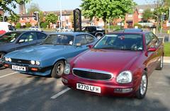 Ford Scorpio and Capri (Lazenby43) Tags: ford capri scorpio cosworth