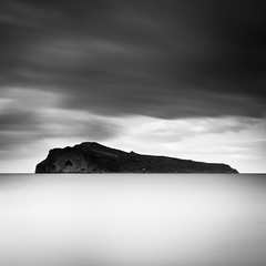 The Far Cry From The Dragons Lair.. (Peter Levi) Tags: ocean longexposure blackandwhite bw seascape blancoynegro water clouds marina island greece le chania agia nd110 bestcapturesaoi elitegalleryaoi mygearandme dblringexcellence tplringexcellence
