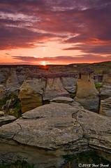 Jerusalem Rocks (F. Frank Photography) Tags: sunset landscape montana rocks jerusalem scenic hoodoos sweetgrass
