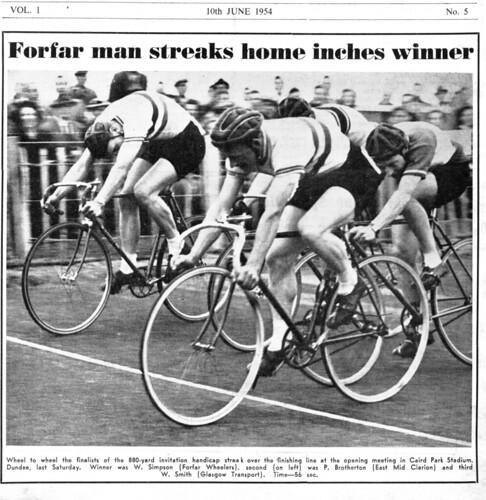 Will Simpson of Forfar Wheelers Cycling Club