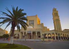Former Cathedral in Algeria Square converted to a Mosque after the Italian rule, Tripoli, Libya (Eric Lafforgue) Tags: africa street color architecture italia northafrica colonial libya libia libye libyen lbia libi libiya  ribia liviya libija algeriasquare       lbija  lby  libja lbya liiba livi  a0012344