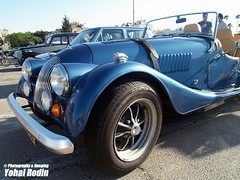 1986 Morgan Plus 8 (Yohai_Rodin) Tags: classic cars car club israel 5 five tel aviv