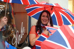 umbrellas (aka Jon Spence) Tags: london umbrella elizabeth jubilee flag piccadilly queen diamond unionjack streetparty londonist