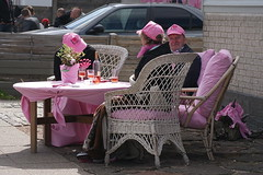 Pink table (Steenjep) Tags: cycling herning giro giroditalia cykling giroditalia2012