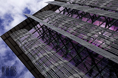 The Razors Edge (Ian Sane) Tags: street blue sky building green architecture clouds oregon portland ian photography downtown images architectural 2nd madison edge jefferson avenue wyatt edith federal wendell 3rd razors sane the