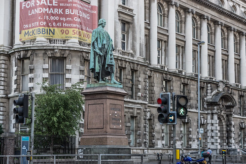 Statue Of Dr. Henry Cooke - College Square, Belfast
