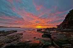 Warriewood Beach 2012 (Steve Irving) Tags: morning sea sunlight seascape beach water dawn surf narrabeen 2012 warriewood