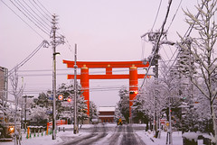 -15 (LanceXiao) Tags: winter snow japan kyoto   kansai