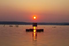 White Dot (Kansas Poetry (Patrick)) Tags: sunset kansas clintonlake patrickemerson patricknancyforever