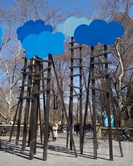 CLOUDS Sculpture by Olaf Breuning, Central Park South, New York City (jag9889) Tags: nyc newyorkcity sculpture usa ny newyork art artist unitedstates centralpark manhattan unitedstatesofamerica midtown publicart 2014 nycparks jag9889
