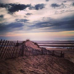 Formby Beach. (-Alii Jones) Tags: life sunset summer sun beach water clouds waves friendship creative like colourful vibes sanddunes merseyside formbybeach aliijonesphotography uploaded:by=flickrmobile flickriosapp:filter=nofilter