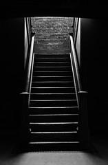 Marathon Village Staircase - Nashville, TN (Crumblin Down) Tags: old bw white black mike archaeology shop stairs vintage tn nashville antique tennessee marathon staircase american antiques stores automobiles wolfe pickers nashvegas
