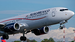 XA-AMB (wittowio) Tags: aviation boeing spotting airliner aeromexico b737 mroc