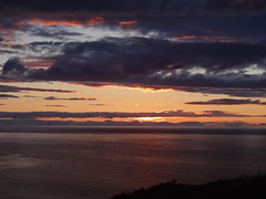 Gamrie Bay 4 (Saf37y) Tags: sunset sea clouds coast scotland aberdeenshire seashore morayfirth gardenstown gamriebay